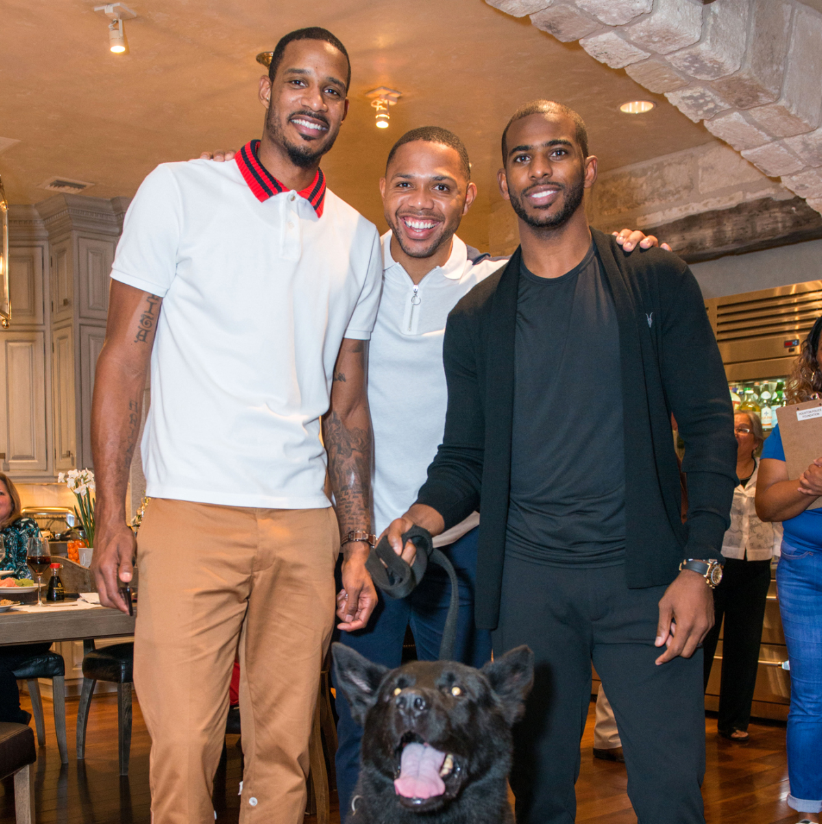 Houston, True Blue Gala, November 2017, Trevor Ariza, Eric Gordon, Chris Paul