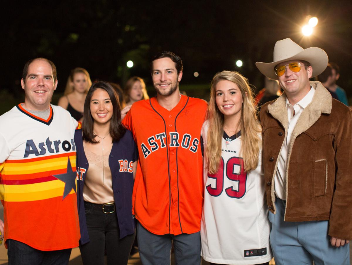 Houston, Urban Green's H-Town Throw Down, November 2017, Jon Sanfelippo and event chairs Jon Sanfelippo, Stacy Leonard, Mitch Zlotnik, Emily Anderson, Nick Scurfield