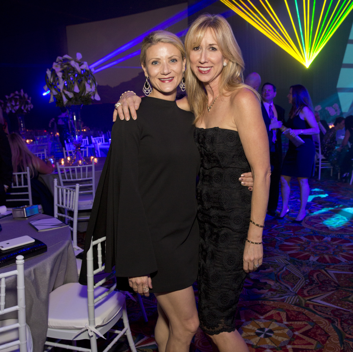Houston, Methodist Hospital Rendezvous Live Young Gala, November 2017, Stephanie Cockrell, Caroline Finkelstein