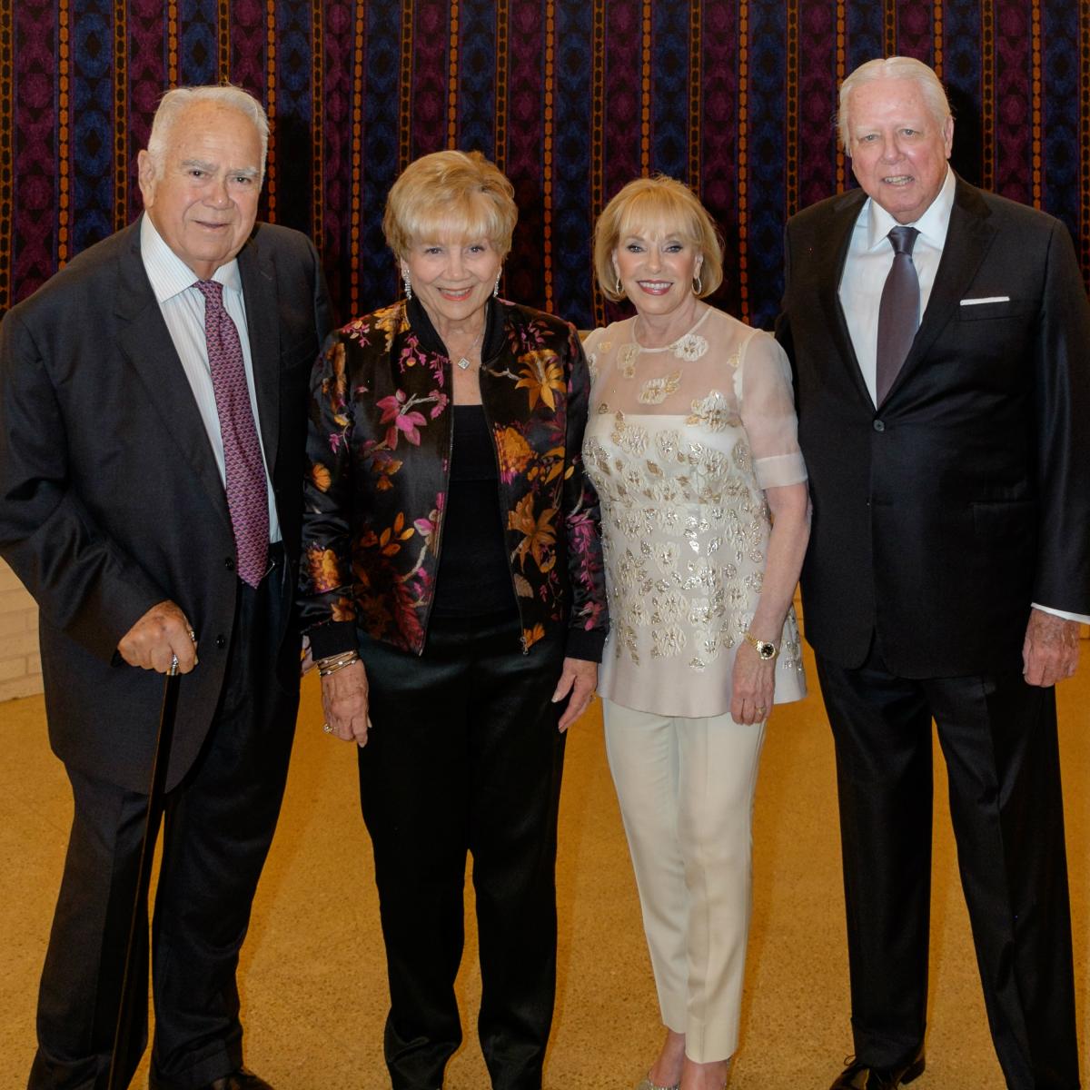 Jack Williamson, Roberta Williamson, Jamie Jordan, Don Jordan