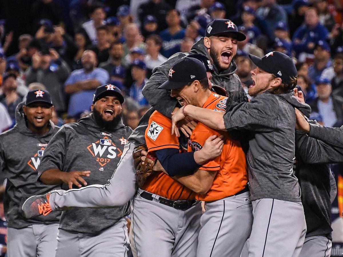 Houston, Astros win World Series, November 2017