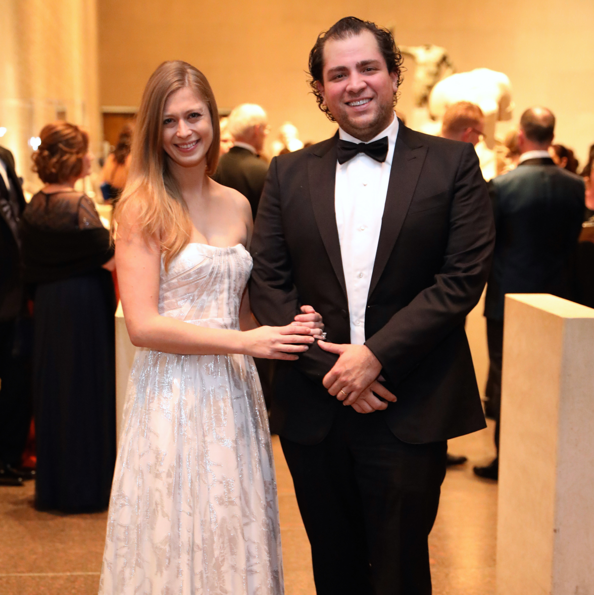 Houston, MFAH Art of the Islamic Worlds Gala, November 2017, Tatiana Galitzine, Guillermo Sierra