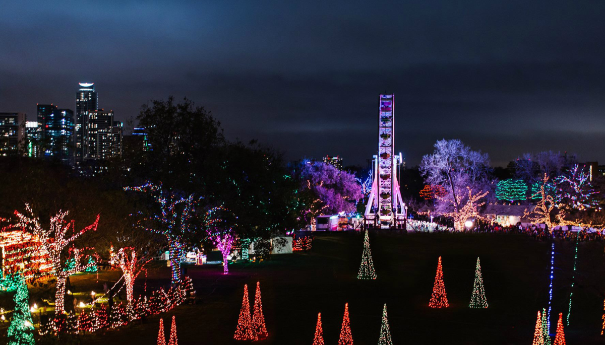 The most brilliant places in Texas to see sparkling holiday light displays