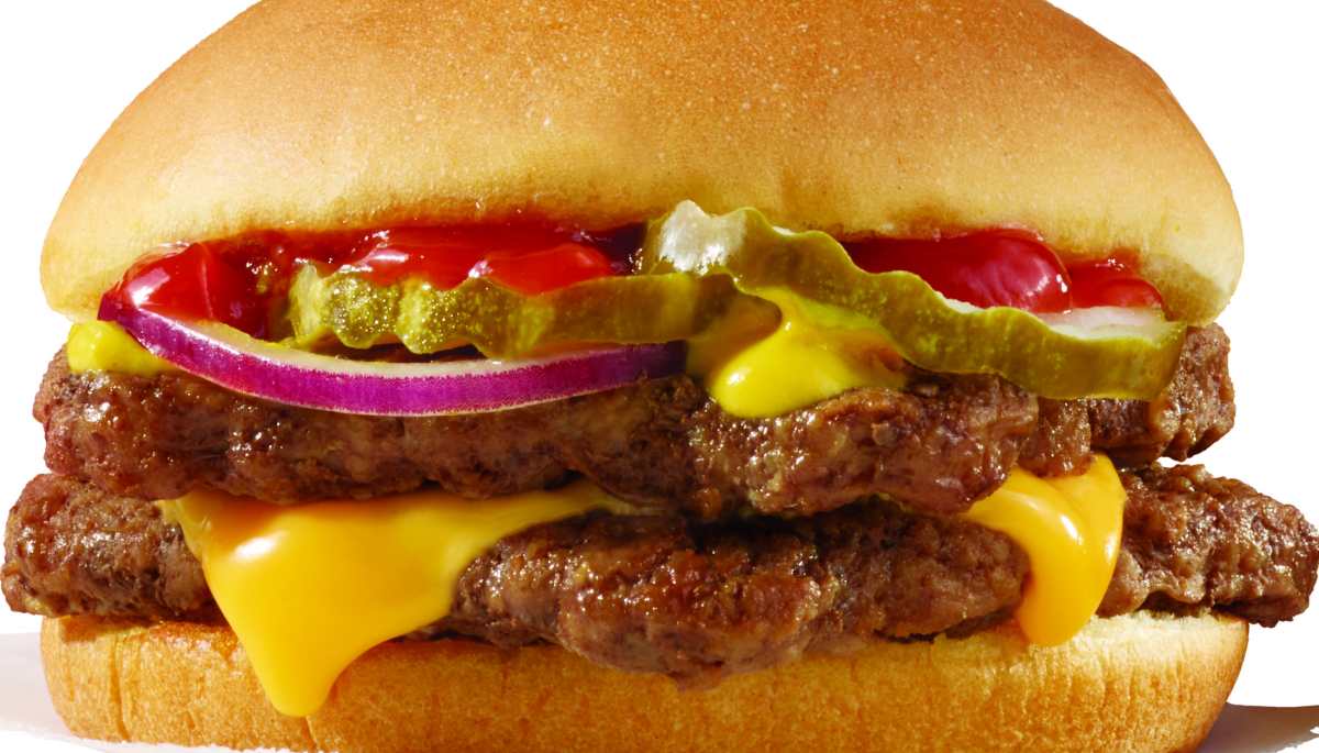 Hoffman: Wendy's Double Stack burger