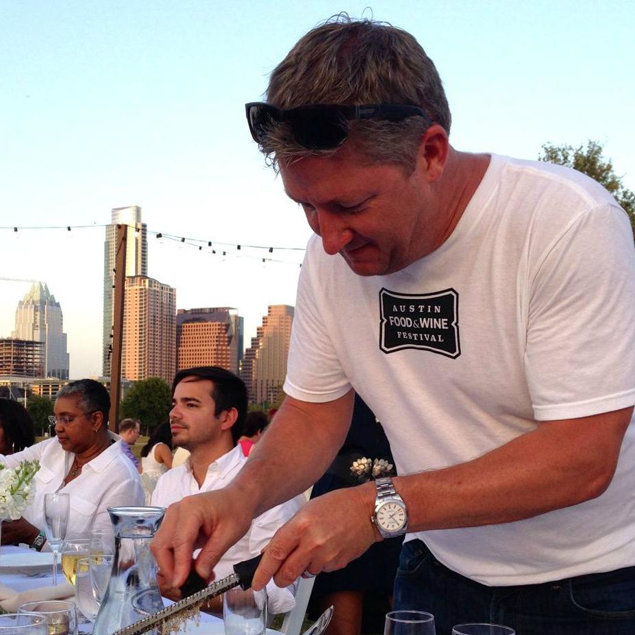 Tim Love, austin food and wine festival