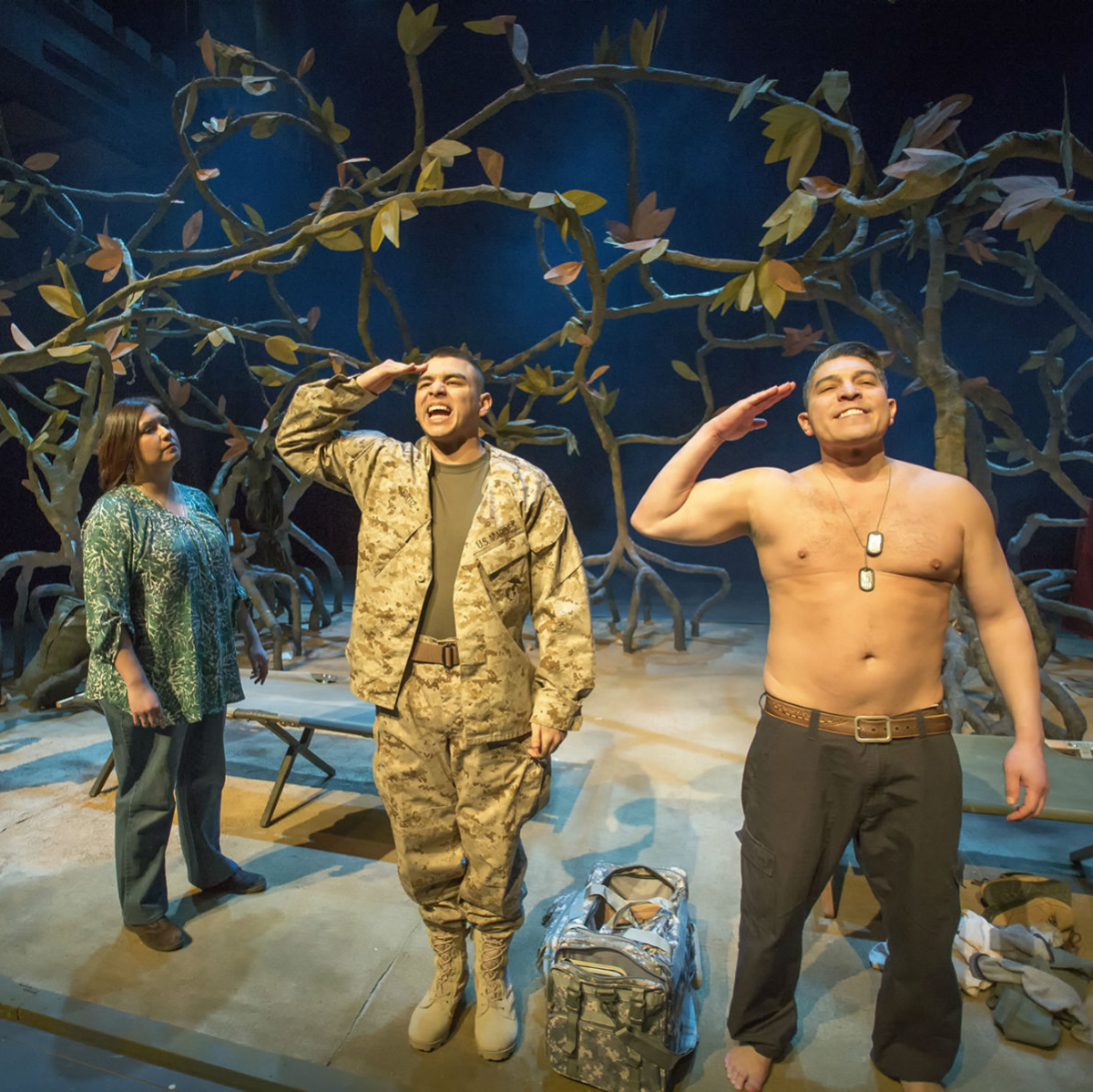 WaterTower Theatre presents Elliot, a Soldier's Fugue
