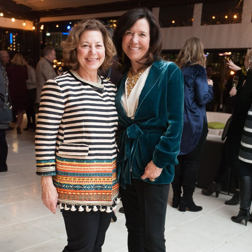 Judy Rowan, Debbie Garrett, Partners Card 2018