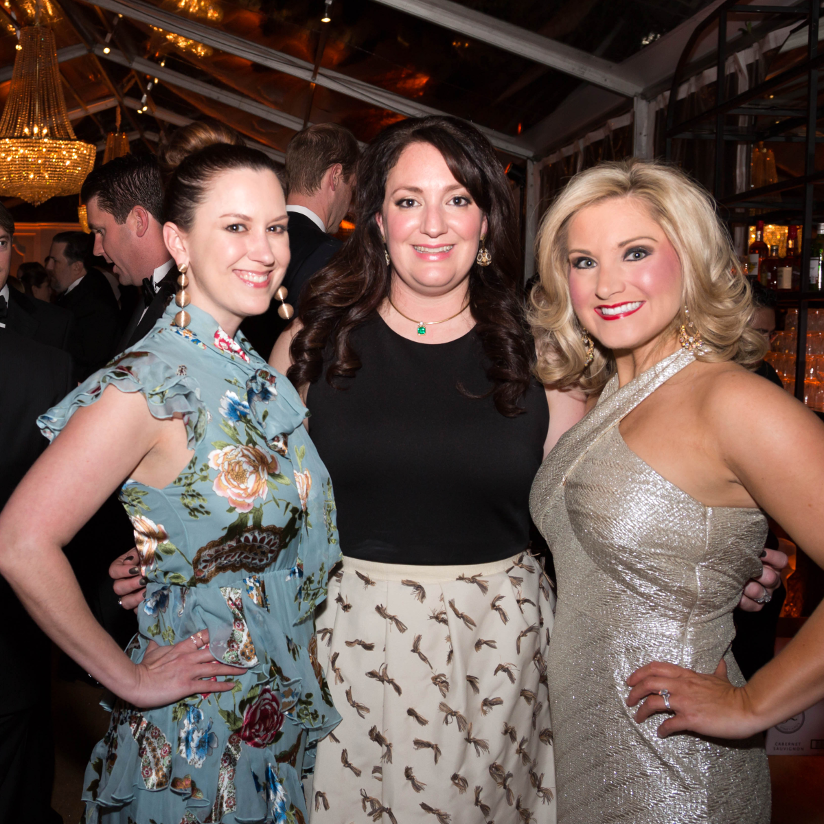 Houston, JLH Charity Ball, February 2018, Jennifer Howard, Mitra Woody, Selby Bush