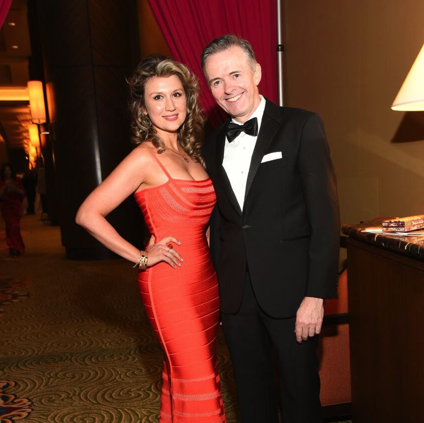 Houston, Heart Ball, February 2018, Yulia Verekennikova, Dr. Daniel Penny