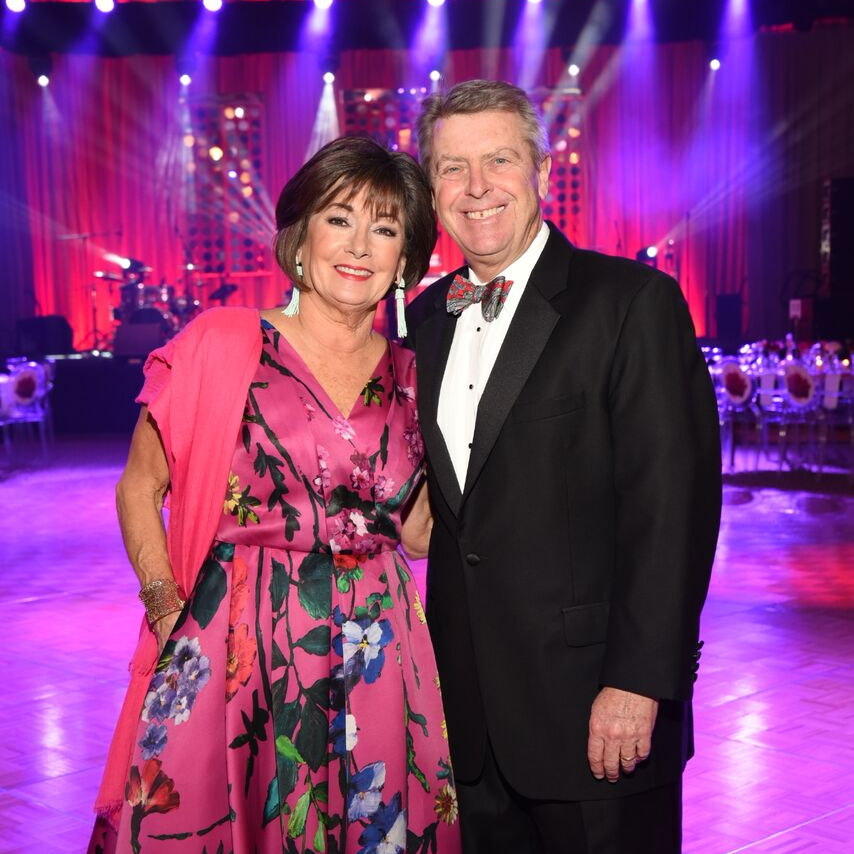 Houston, Heart Ball, February 2018, Cathy and Joe Cleary