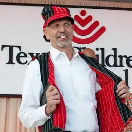 Bad Pants Fashion Show, Clifford Pugh, Texas Children's Hospital, 2012