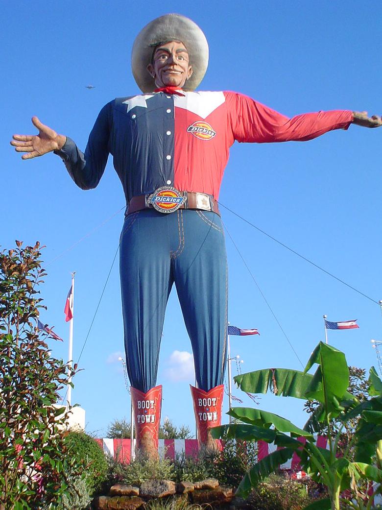 Big Texas at Texas State Fair in Dallas