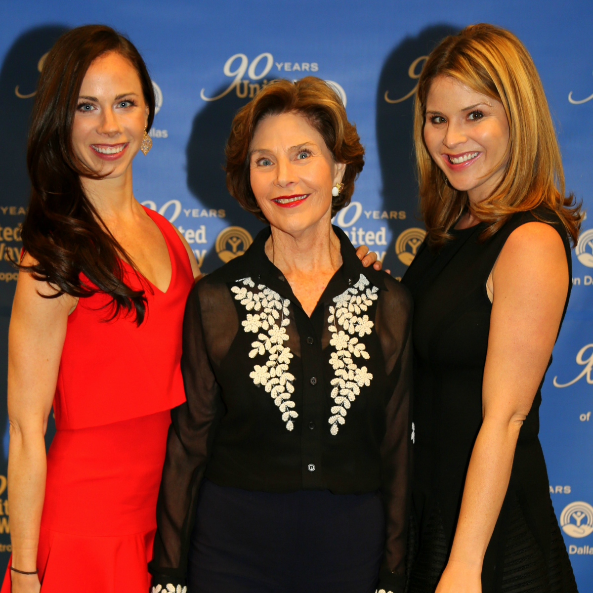 Barbara Bush, Laura Bush, Jenna Bush Hager, Unite Forever Gala