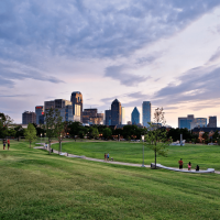 Griggs Park in Uptown Dallas