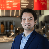 Dominik Stein of Verts Mediterranean Grill