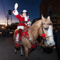 Gruene Gruene Historic District Christmas Sant Clause