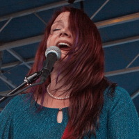 Carolyn Wonderland at North Oak Cliff Music Festival in Dallas