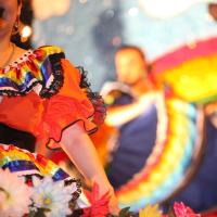 San Antonio Fiesta dancers