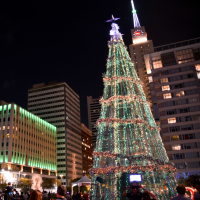Dallas City Lights Christmas tree