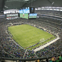 Gold Cup soccer at AT&T Stadium