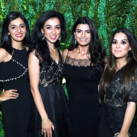 Houston, MFAH Art of the Islamic Worlds Gala, November 2017, Ambereen Lutfi, Amina Malik, Aziza Rehmatulla, Safia Lakhani