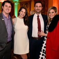 Joey Wilkinson, Megan Bowdon Wilkinson, Drew Herrmann, Pamela Herrman, Dinner with the Stars