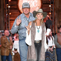 Houston, Kick Up Your Boots for Kids event, February 2018, Roger Clemens, Debbie Clemens