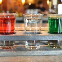 Wild Salsa tequila flight