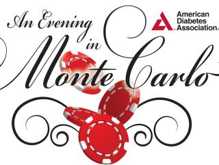 An Evening in Monte Carlo logo for American Diabetes Association