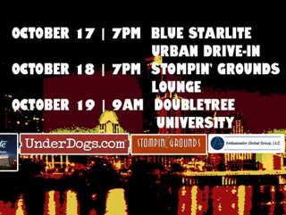 Austin Indie Flix Showcase flyer with locations