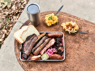 Truth BBQ barbecue tray