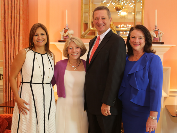 San Francisco Nativity Academy Luncheon, 6/16, Daniela Simpson, Cathy Garcia-Prats, David Wuthrich, Tara Wuthrich