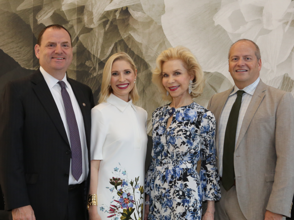 Saks Opening Dinner for HGO 4/16,  Perryn Leech, Isabel David, Lynn Wyatt, Patrick Summers