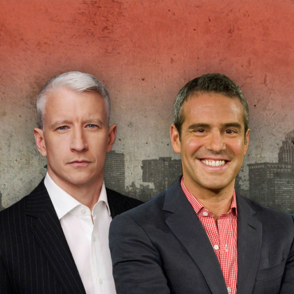 "Anderson Cooper and Andy Cohen return to Houston for ""shallow"" show"