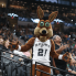 John Egan: San Antonio Spurs court fans with helicopter rides to and from games