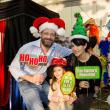 News, CM Holiday Pop-Up Shop, Dec. 2015, Scott Newman, Mia Newman (child), Carol Newman