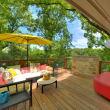 Austin home house 5932 Highland Hills Dr 78731 deck