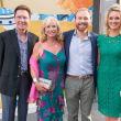 Ben-Hur premiere, Aug. 2016, Ray Ballentyne, Sharon Bush, Pierce Bush, Sarabeth Melton
