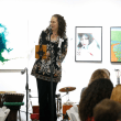 Mary Lawler at Art on the Avenue preview party