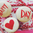 Valentine's Day macarons from Sucre Sucre by Lucia