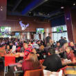 Houston Texans Grille, interior, crowd