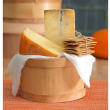 Houston Dairymaids Cheese of the Month Club basket of cheese with crackers