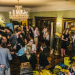 12 The crowd at the CultureMap Social at La Colombe d'Or February 2014