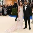 The Weeknd Selena Gomez at Met Costume Institute Gala
