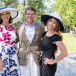 Houston, Hats, Hearts & Horseshoes benefiting Bo's Place 2017, May 2017, Lisa Malosky, Stephen Lewis, Allison Lewis
