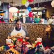 Joseph Pena winner of McDonald's contest with Lone Star Stack