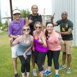 Tara Callahan, Brianna Riddell, Katie McDaniel, (Back) Nic Waldron, Kevin Allen, Roy Johnson