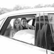 Houston, Chita Johnson wedding, June 2016, getaway car