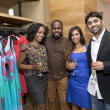 Houston, Saint Bernard opening party, April 2016, Gina Armstrong, Andre Evans, Sara Goel, Sid Aranke
