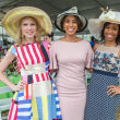 Hats in the Park, March 2016, Courtney Toomey, Crystal Wright, Roslyn Bazzelle Mitchell